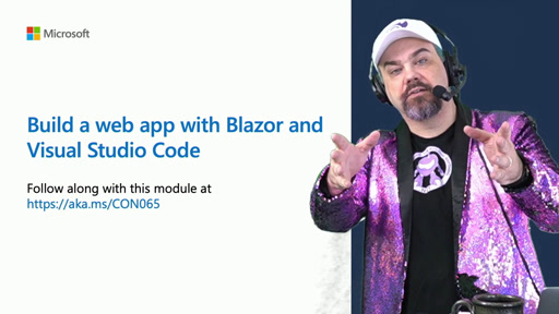 Learn Live @ Build - Build your first web app with Blazor & Web Assembly
