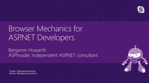 Browser Mechanics for ASP.NET Developers