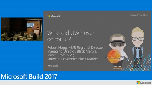 Black Marble: What did UWP ever do for us?