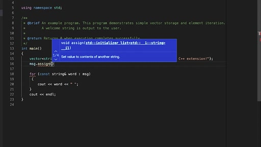 Configure C++ IntelliSense in Visual Studio Code