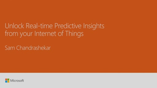 Gain real time and predictive insights on your Internet of Things