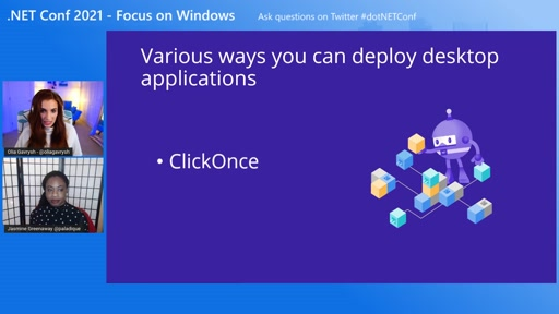 Deploying Windows Apps with ClickOnce on .NET 5