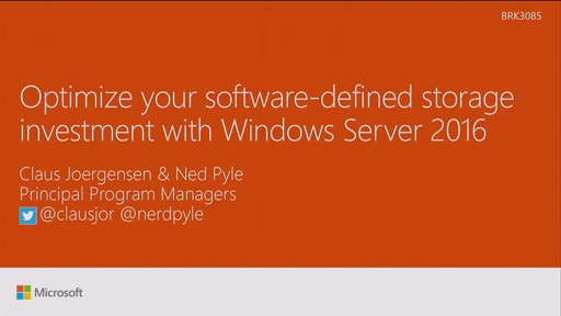 Optimize your software-defined storage investment with Windows Server 2016