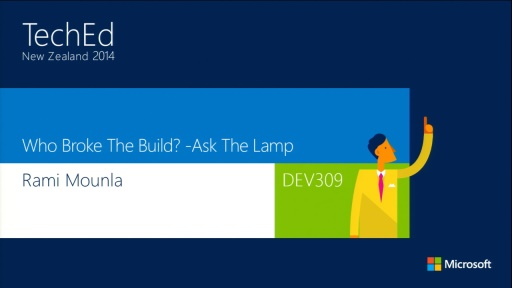 Who Broke The Build? -Ask The Lamp