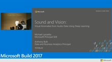 Sound and vision: Visual anomalies from audio data using deep learning