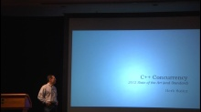 C++ and Beyond 2012: Herb Sutter - C++ Concurrency