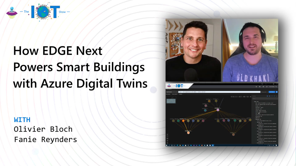 How EDGE Next powers Smart Buildings with Azure Digital Twins