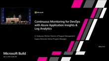Continuous Monitoring for DevOps with Azure Application Insights & Log Analytics