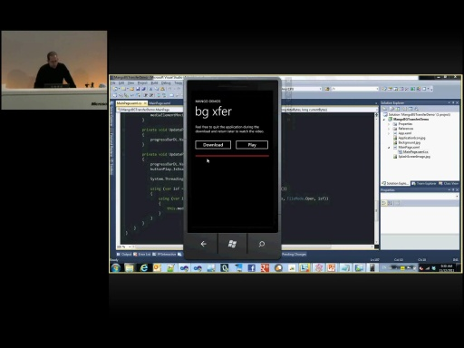 MSDN TechTalk - Windows Phone 7.5 Mango für Entwickler