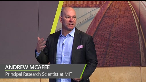 Opening Keynote: The Second Machine Age: Work, Progress and Prosperity in a Time of Brilliant Technologies