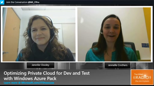 Optimizing Private Cloud for Dev and Test with Windows Azure Pack