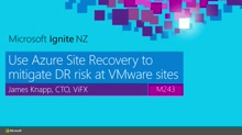 Use Azure Site Recovery to mitigate DR risk at VMware sites