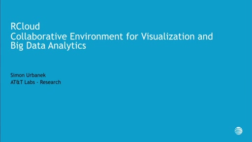 RCloud - Collaborative Environment for Visualization and Big Data Analytics