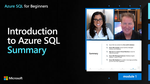 Introduction to Azure SQL – Summary (11 of 61)