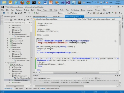 What's New in Visual Studio 2012 and C# 5.0 - Part 2