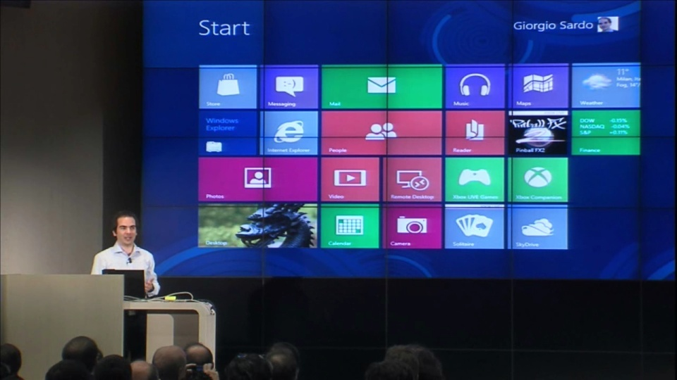 Windows 8 Keynote: Parte 2