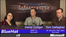 Interview with Katie Moussouris and David Conger & Tom Gallagher
