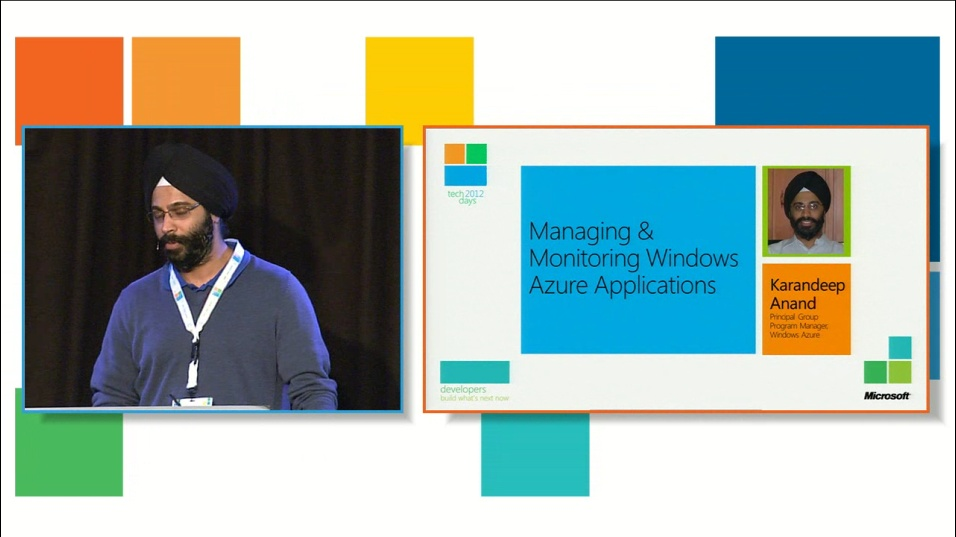 Monitoring & Managing your Windows Azure Applications