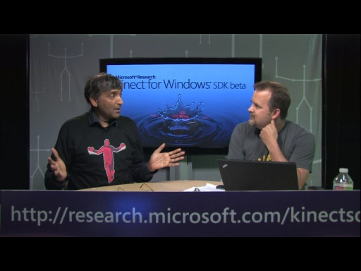 Kinect for Windows SDK Beta Launch Announcement with Anoop Gupta & Jeff Sanquist