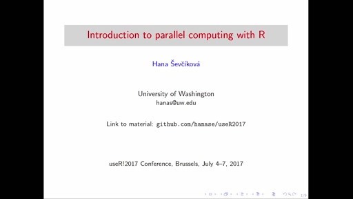 Introduction to parallel computing with R