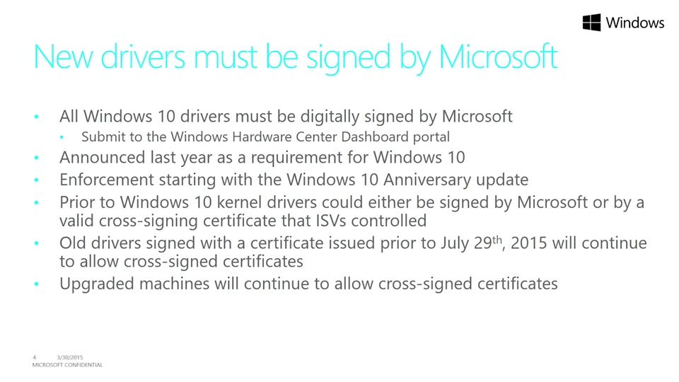 Driver Certification On Windows Client And Server Filter Plugfest