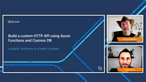 Build a custom HTTP API using Azure Functions and Cosmos DB - Episode 1