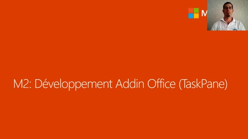 02 - Développement d'un Add-in Office (Taskpane Word/Excel)
