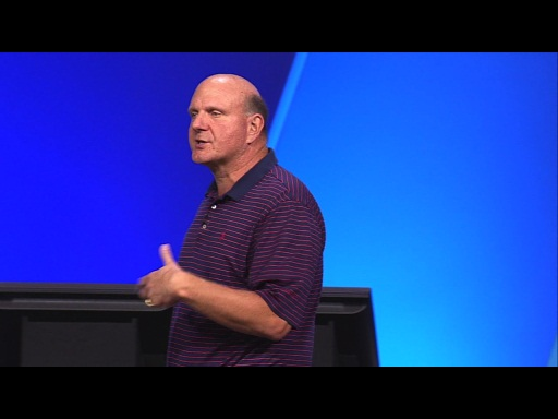 Steve Ballmer ties it all together