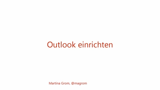 Office 365 Outlook einrichten