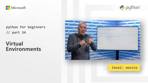 Python for Beginners [34 of 44] Virtual Environments