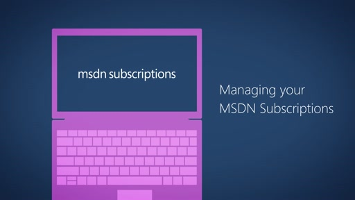 Managing your MSDN Subscriptions (MPSA)