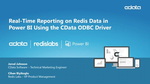Real-time Reporting with Redis In-Memory Data Hosted on Azure