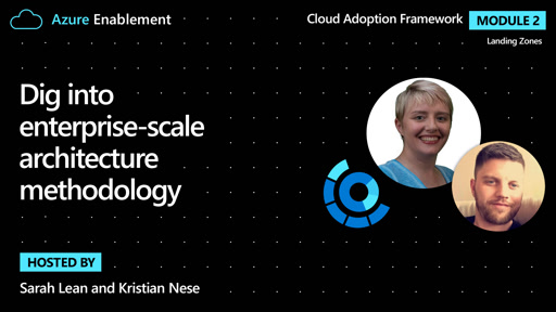 Dig into enterprise-scale architecture methodology | Landing zones Ep.5 : Cloud Adoption Framework