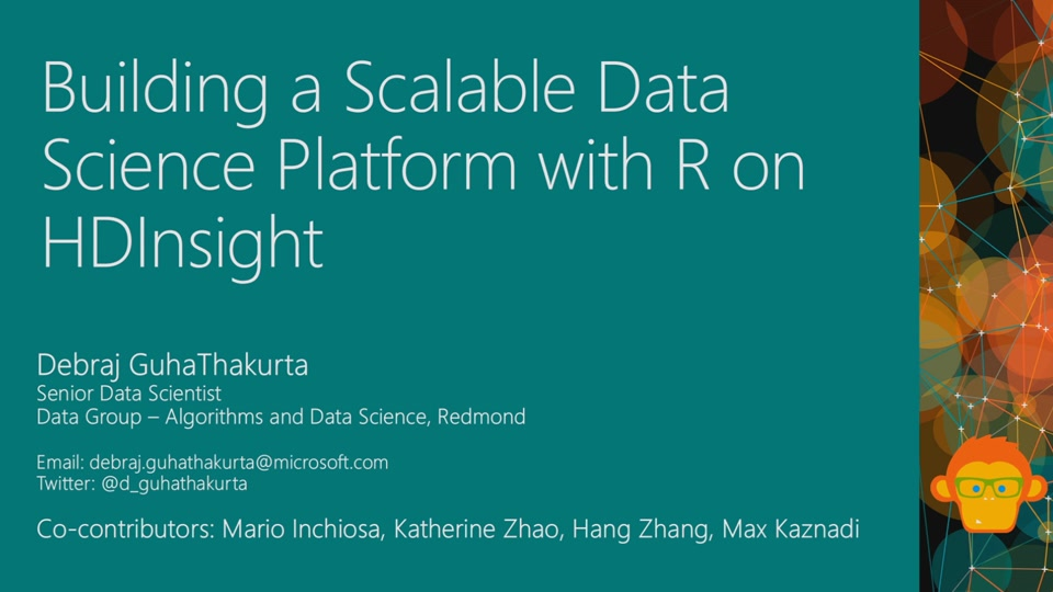 Building a Scalable Data Science Platform with R on ...