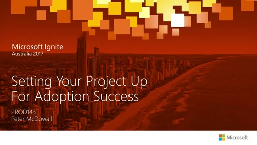 Setting Your Project Up for Adoption Success – a Top of the Cliff Approach