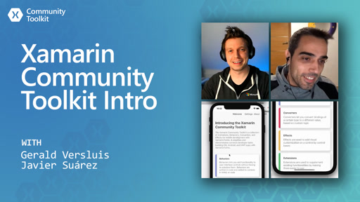 Introducing the Xamarin Community Toolkit