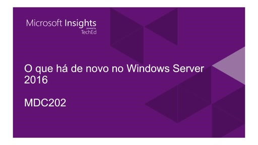 O que há de novo no Windows Server 2016