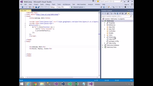 02 YongJun Park - EP05 Using NuGet Package Manager for Client Library(jQuery, Bootstrap, Angular)