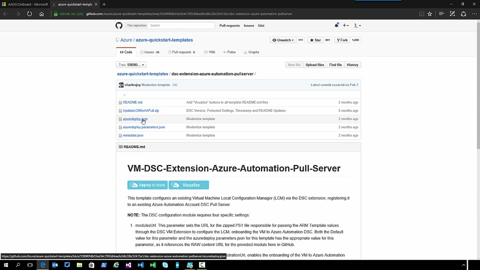 Azure Automation DSC Part 5 - Advanced onboarding 2