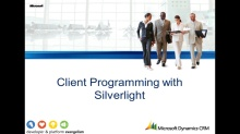 Silverlight & CRM - Part 2
