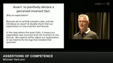 Lightning Talks: Assertions of Competence