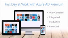 First day at work with Azure Active Directory