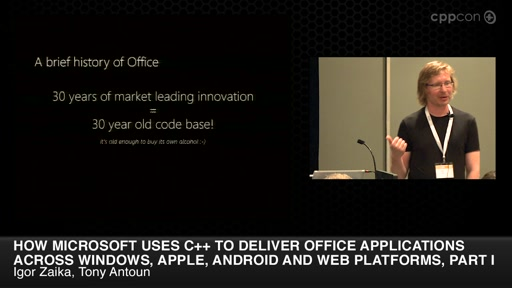 Microsoft w/ C++ to Deliver Office Across Different Platforms, Part I