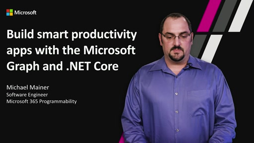 Build smart productivity apps with Microsoft Graph .Net SDK