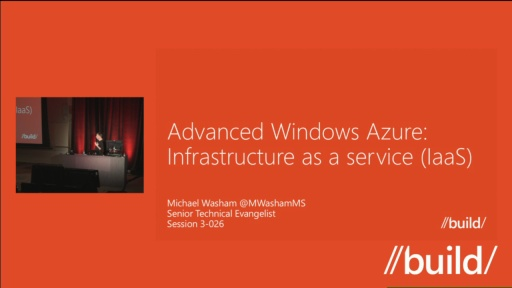 Advanced Windows Azure Infrastructure as a Service (IaaS)