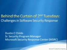 Behind the Curtain of Second Tuesdays: Challenges in Software Security Response
