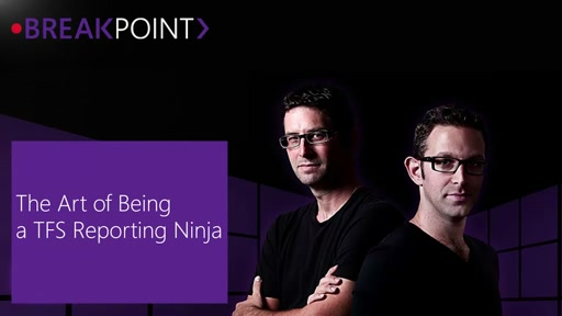 Breakpoint: The Art of Being a TFS Reporting Ninja