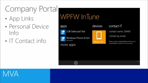 Windows Phone 8.1 Enterprise Mobility Management: (03) App Deployment
