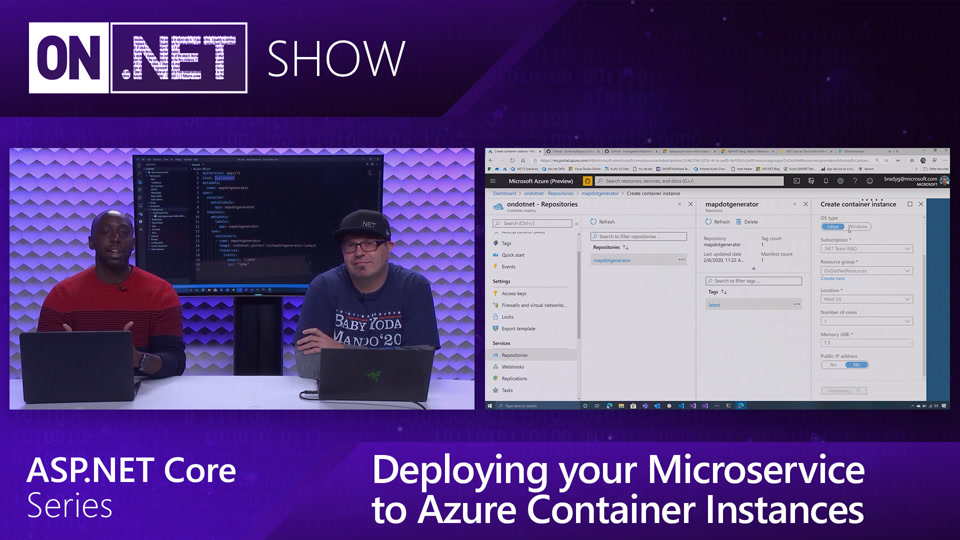 ASP.NET Core Series: Deploying your Microservice to Azure Container Instances