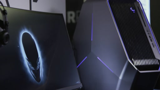 Eye Tracking Gameplay with New VR Ready Alienware Extreme Gaming Machines